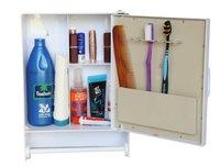 14410 Bathroom Cabinet Rod White