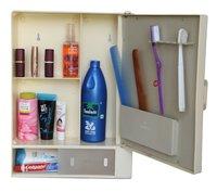 14410 Bathroom Cabinet Sliding Ivory