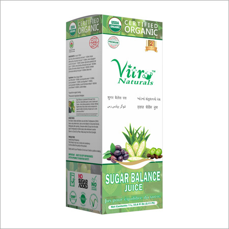 Organic Sugar Balance Juice