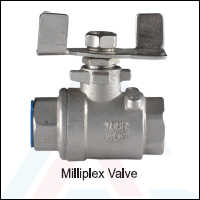 Milliplex Ball Valve