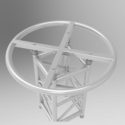 Round Circle Truss