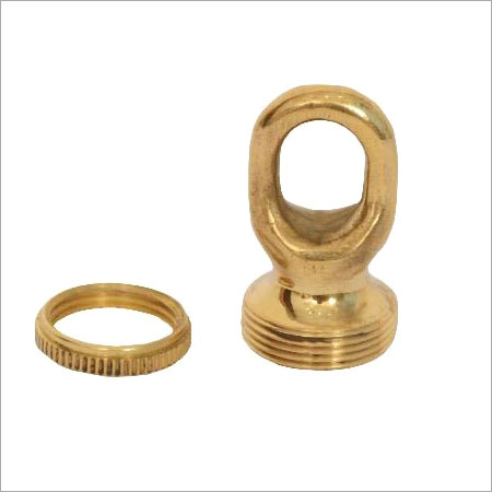 Brass Screw Collar Loop