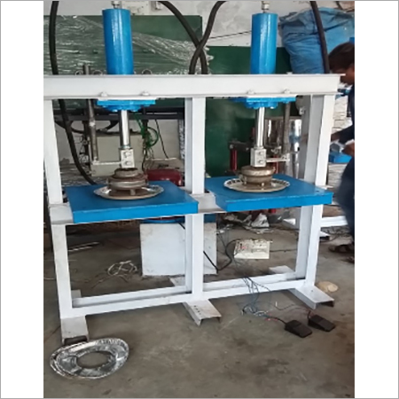 HYDRAULIC DOUBLE DYE PAPER PLATE MAKING MACHINE