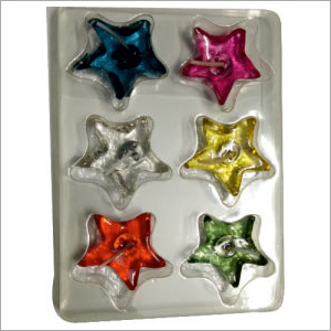 Star Shaped Wax Candle