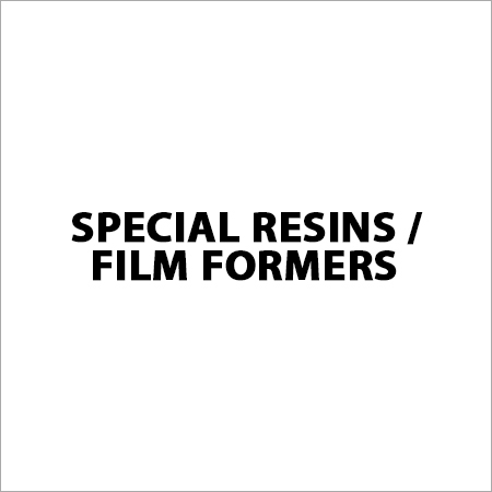 Special Resins / Film Formers