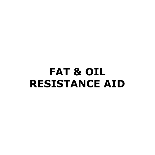 Fat & Oil Resistance Aid