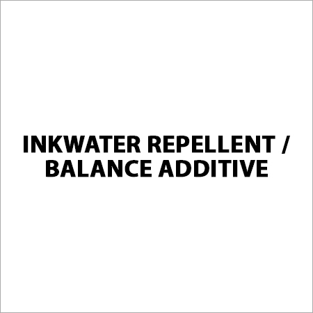Inkwater Repellent / Balance Additive