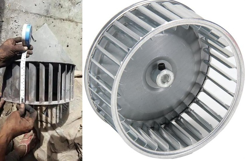 DIDW Centrifugal Fan 272 MM X 272 MM