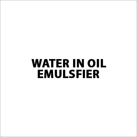 Water in Oil Emulsfier