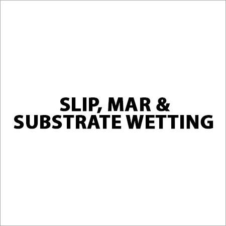 Slip, Mar & Substrate Wetting