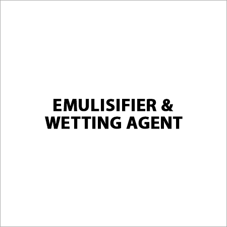 Emulisifier & Wetting Agent