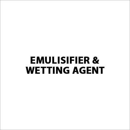 Emulisifier & Wetting Agent