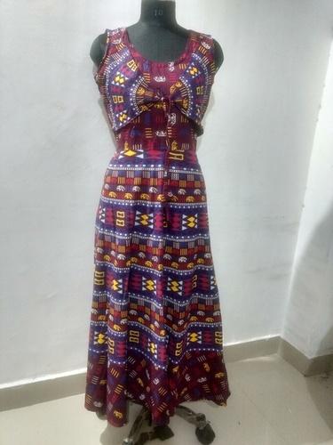 Jaipuri One Piece Jacket Dress