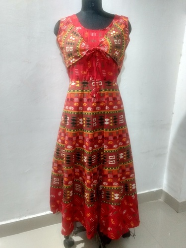 Rajasthani Maxi Style Long Koti Dress