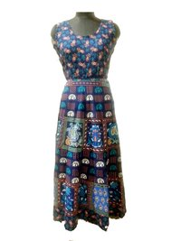 Ladies Rajasthani Printed Dress