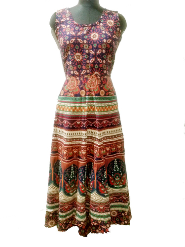 Jaipuri One Piece Long Kurti