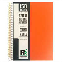 PP Cover Three Subject Notebook