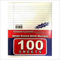 Ruled Filler Paper