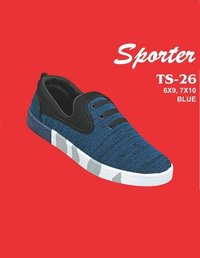 Sporter Men/Boys Canvas Blue TS-26 Loafers Shoes