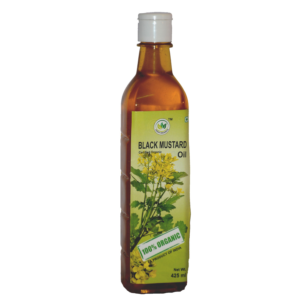 425 Ml Siddhi organics Black Mustard Oil