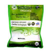 500 Gm Siddhi Organics Moth Dal