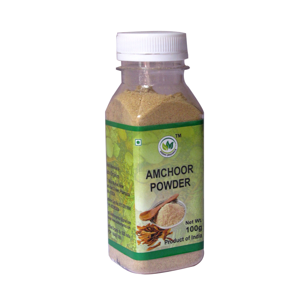 Siddhi Organic Aamchur Powder Bottle (100 gm)