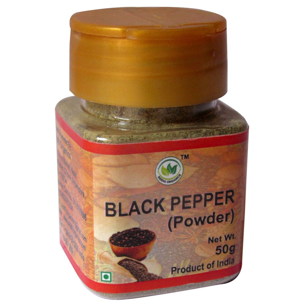 50 Gm So-Black Pepper Powder