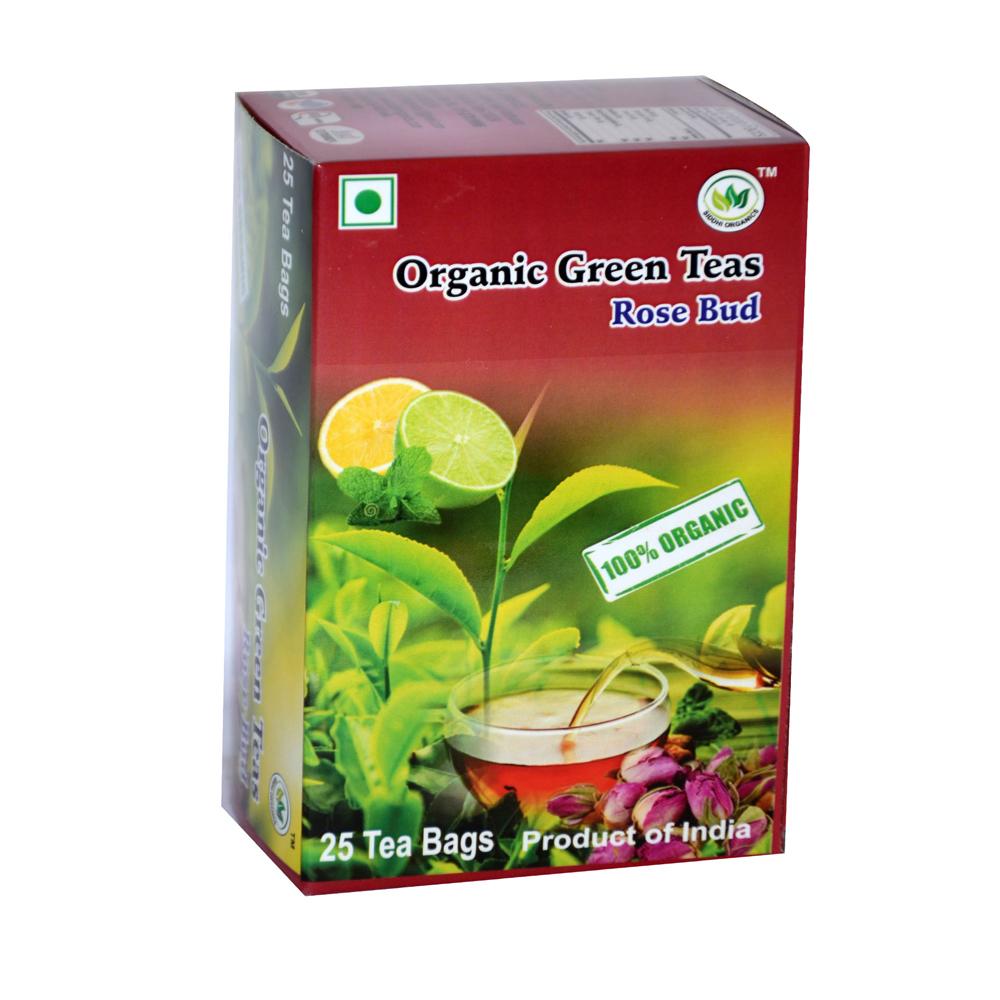 SIddhi Organics Green Rose Bud 25 Begs