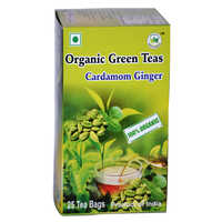 Green Tea Cardamom Ginger 25 Begs