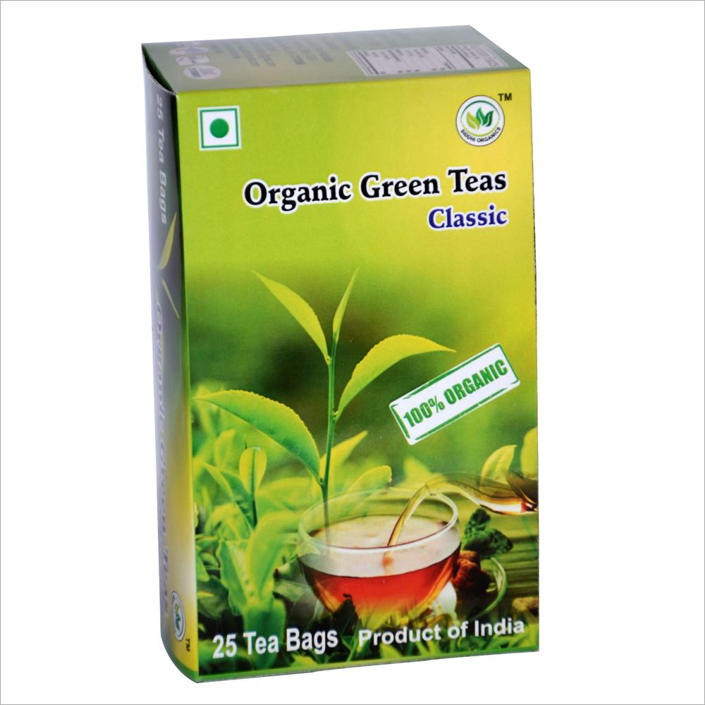 SIddhi Organics Green Tea CLassic 25 Begs