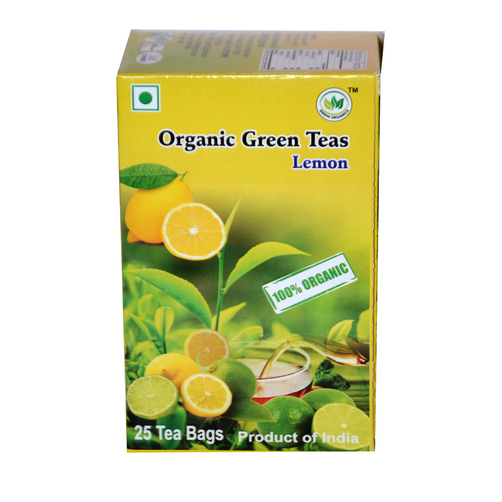 SIddhi Organics Green Tea Lemon 25 Begs