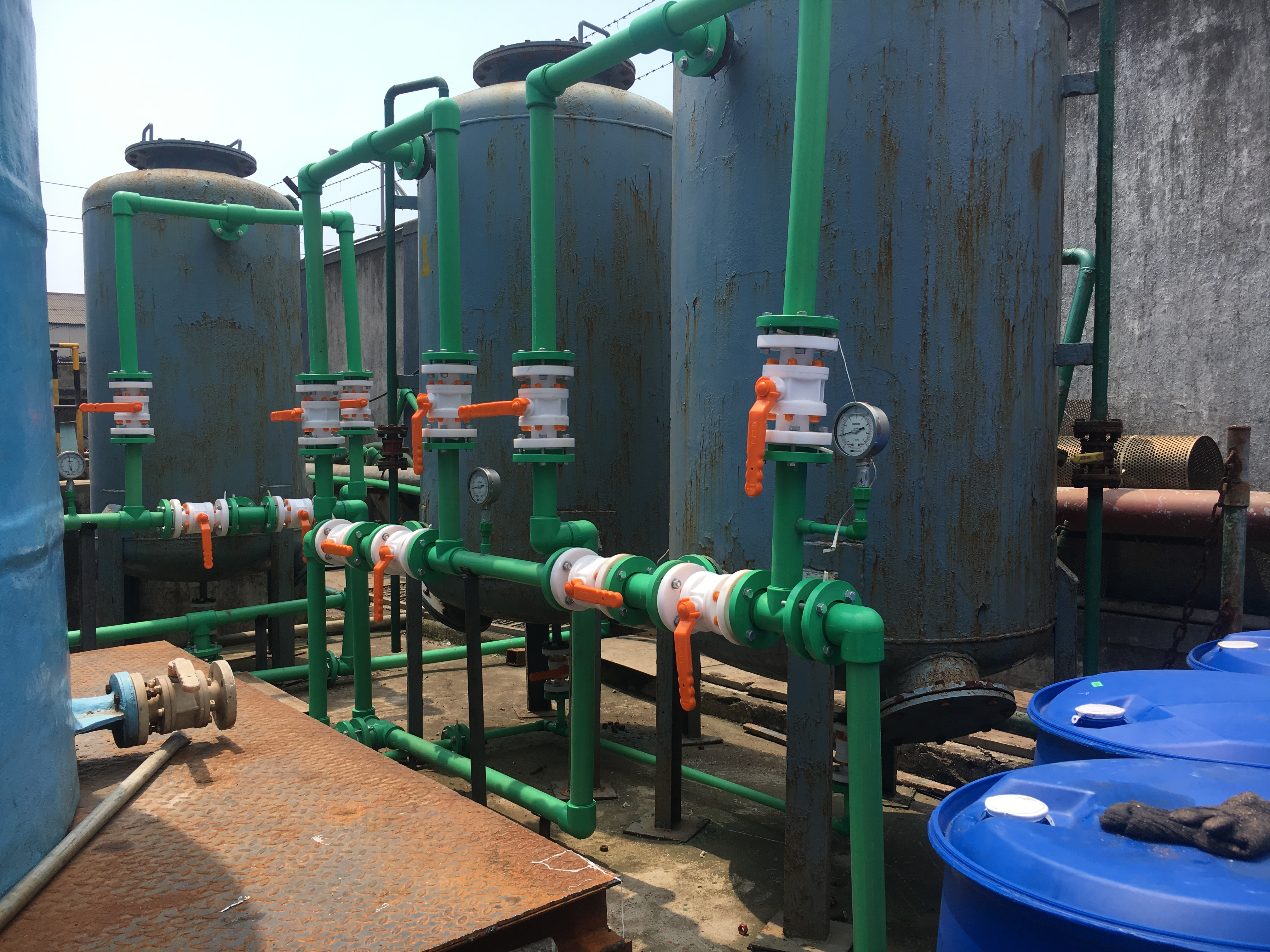 Industrial PP Piping