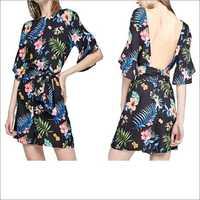 Rayon Printed Jumpsuit