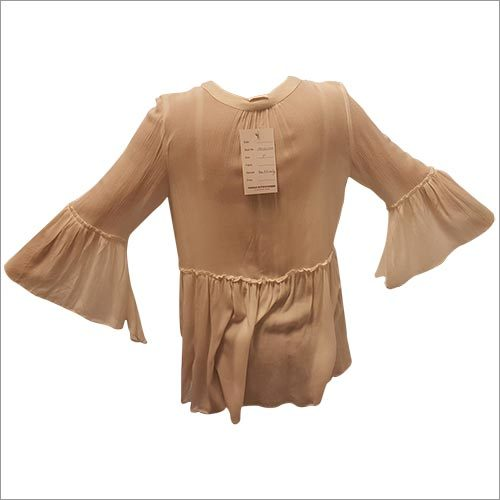 Ladies Circular Flounce Top
