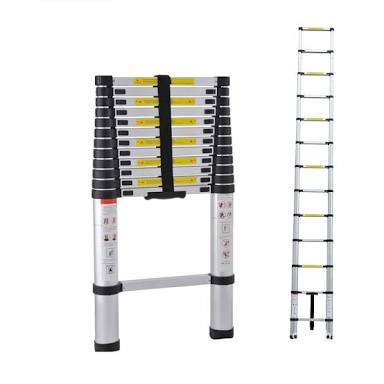 Folding Aluminium  Adjustable Ladder