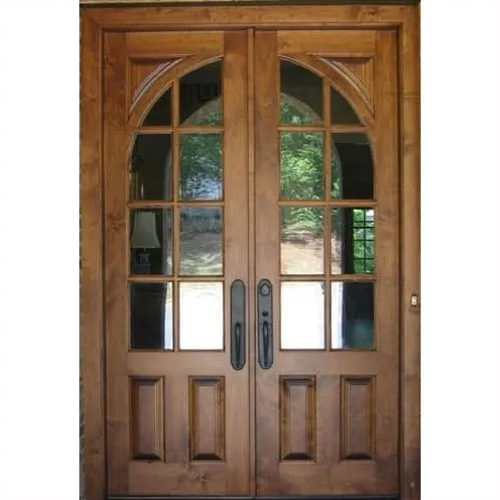 CNC Entrance Teak door