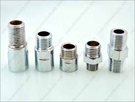 Brass Sanitary CP Hex Nipple