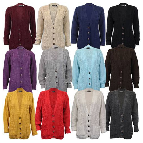 Ladies Woolen Cardigan