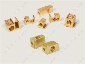 Brass HRC Fuse Contact Parts