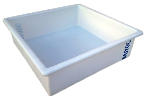 plastic square Tray