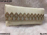 Ethnic Bead Clutch