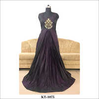 Ladies Silk Gown