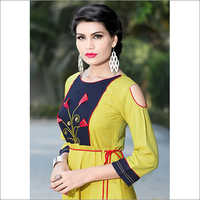 Ladies Cut Shoulder Kurti