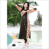 Ladies Designer Straight Kurti