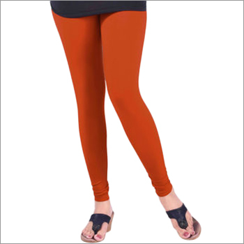 Ladies Red Leggings