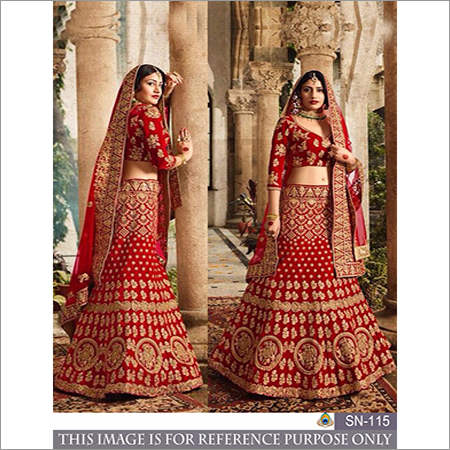 Ladies Embroidery Work Lehenga Choli
