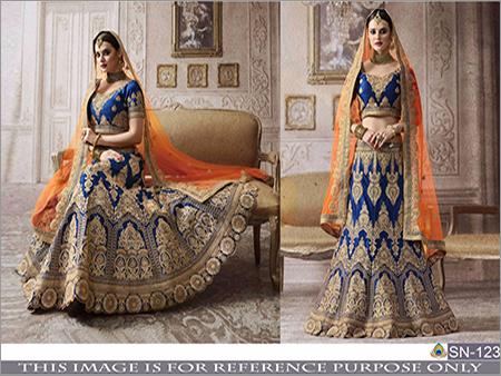 Ladies Heavy Embroidery Lehenga Choli