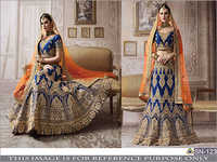 Ladies Heavy Embroidery Lehenga Choli