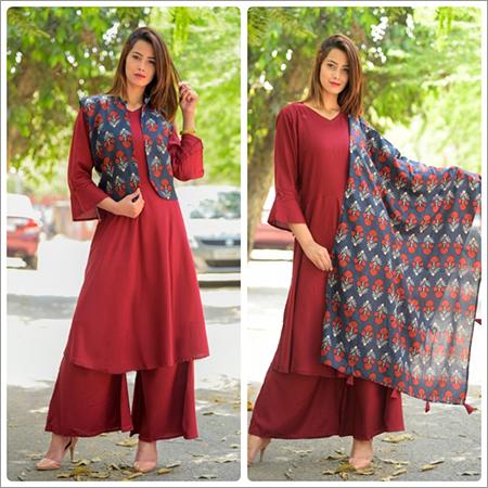 Ladies Designer Palazzo Salwar Suit
