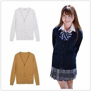 Uniform V Neck Sweater